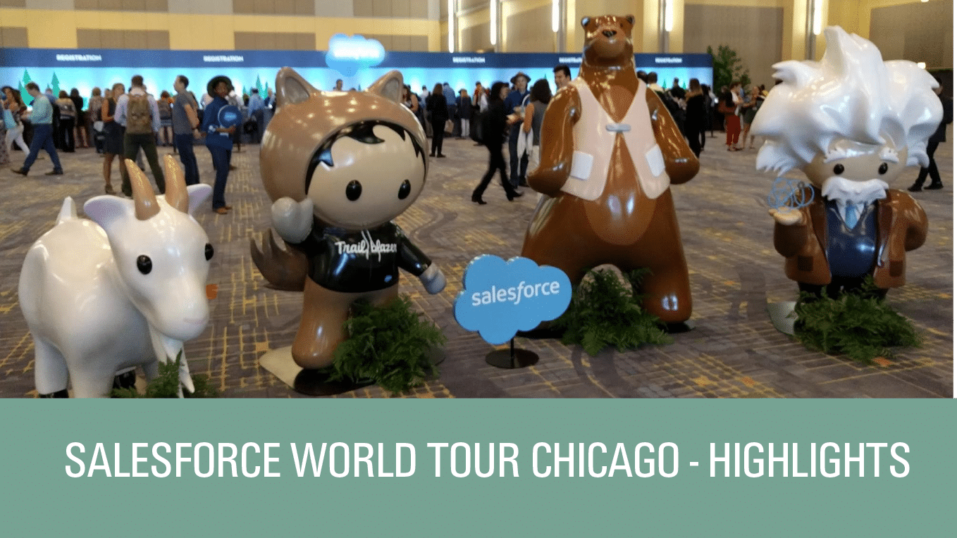 Highlights from the 2017 Salesforce World Tour