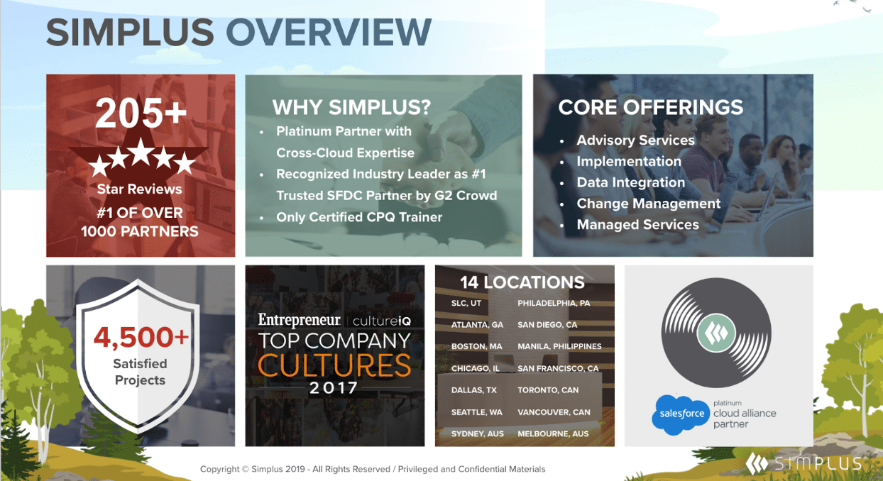 simplus overview slide